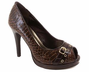 Brown Snake Heels